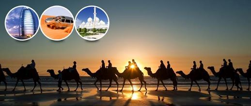 4 Days 3 night stay starting from only AED 1899 (Evening Arrivals)